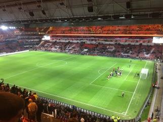 Phillips stadium, Eindhoven, The Netherlands